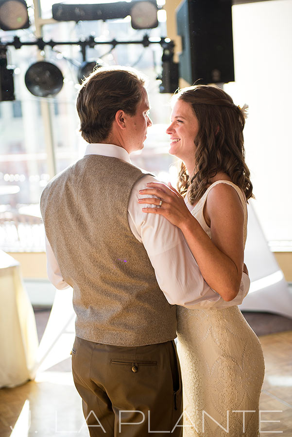 J. LaPlante Photo | Summit County Wedding Photographer | Copper Mountain Wedding | First Dance Photo