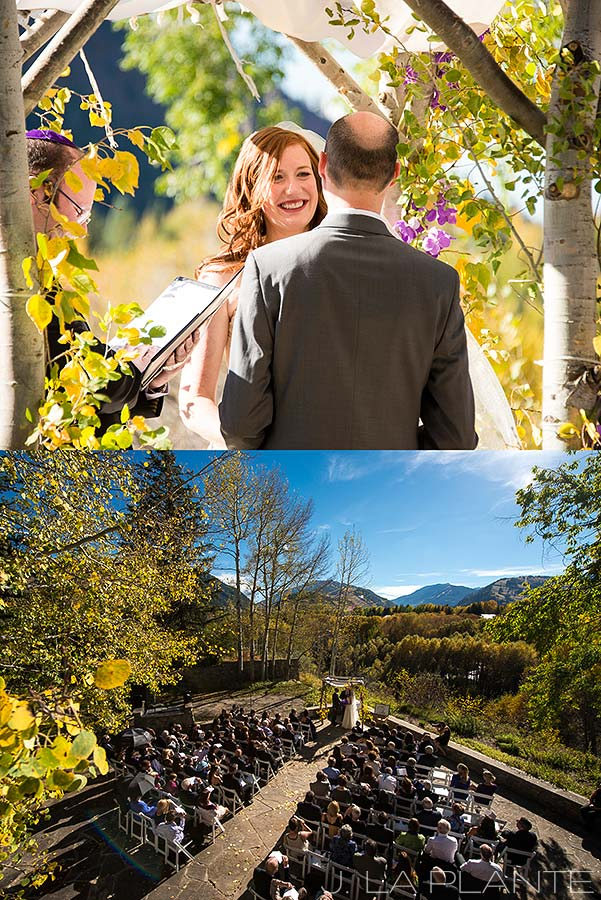 J. LaPlante Photo | Aspen Wedding Photographer | Aspen Meadows Resort Wedding | Jewish Wedding Ceremony
