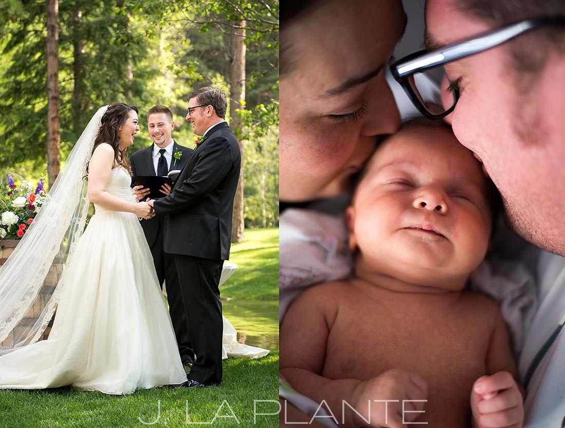 J. LaPlante Photo | Denver Wedding Photographer | Dunafon Castle Wedding | Denver Newborn Photography