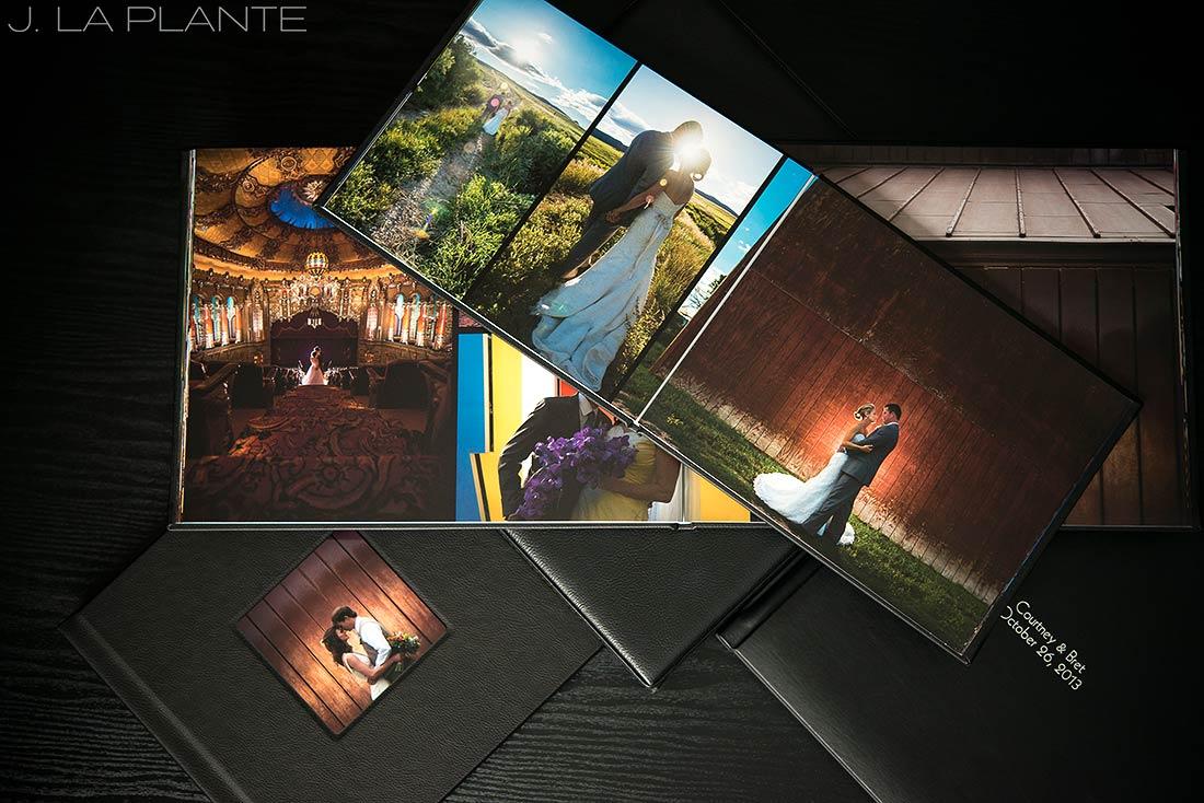 J. LaPlante Photo   Colorado Wedding Photographers   Wedding Photo Albums