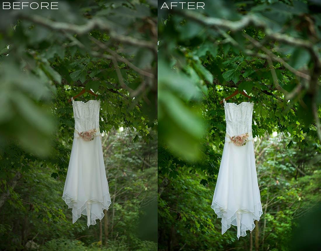 J. LaPlante Photo | Ogunquit Wedding Photographer | River Lily Farm Wedding | Wedding Dress Photo