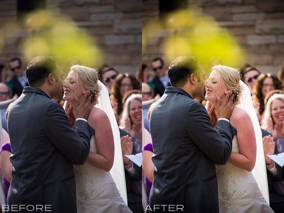 J. LaPlante Photo | Denver Wedding Photographer | Wildlife Experience Wedding | The Kiss