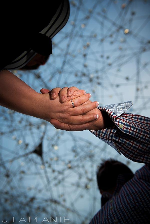 J. La Plante Photo | Denver Wedding Photographer | Denver City Park Engagement | Engagement Ring