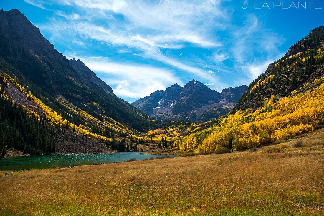 J. La Plante Photo | Aspen Wedding Photographer | Maroon Bells Wedding | Maroon Bells in Fall | Yellow Aspen Trees