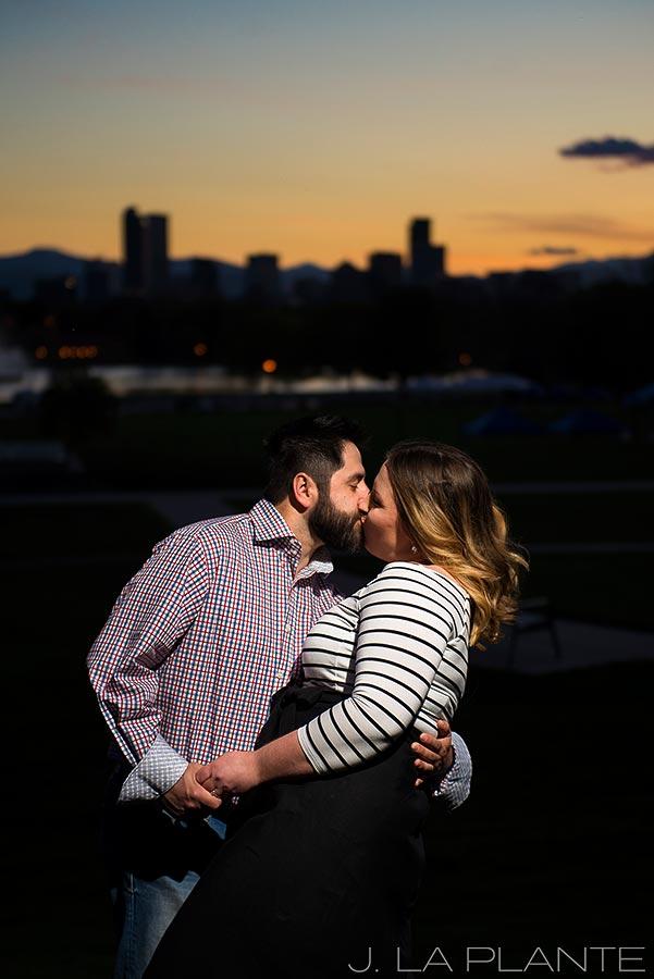 J. La Plante Photo | Denver Wedding Photographer | Denver City Park Engagement | Sunset Engagement