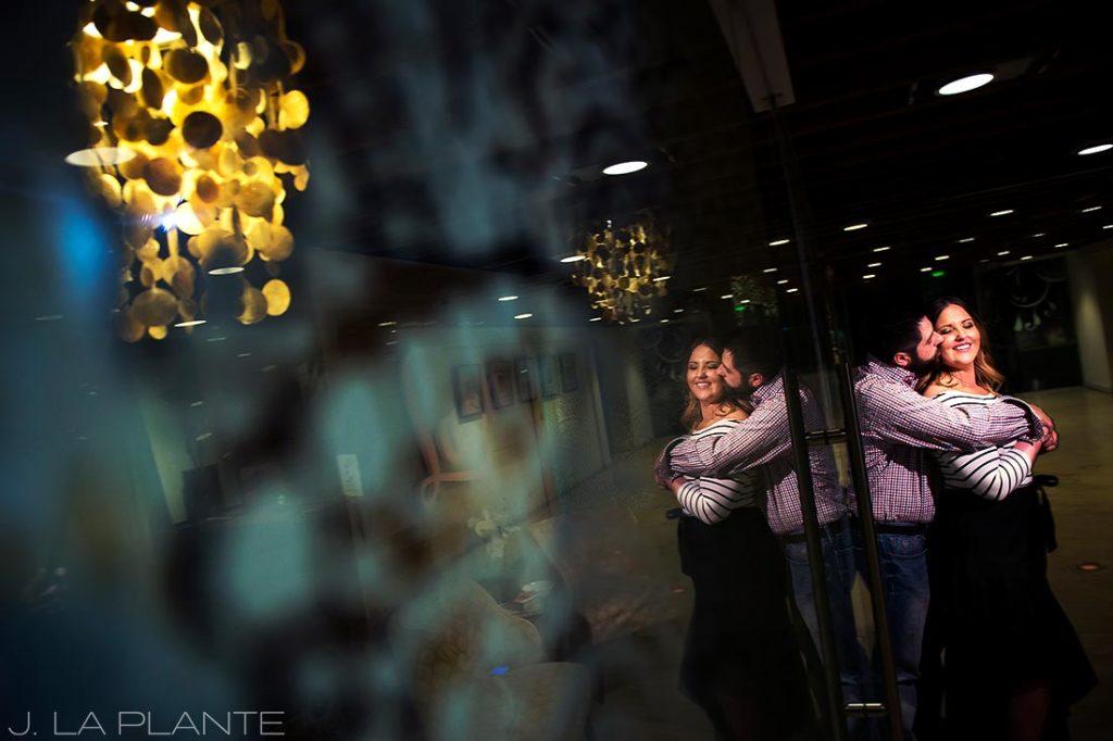 J. La Plante Photo | Denver Wedding Photographer | Larimer Square Engagement | Artistic Engagement Photo