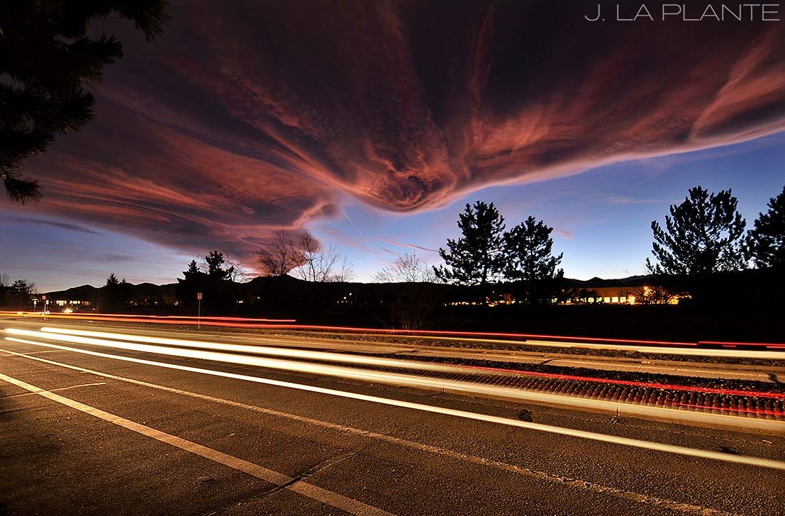 J. La Plante Photo | Boulder Wedding Photographer | Gunbarrel Wedding | Lenticular Wave Clouds Photo