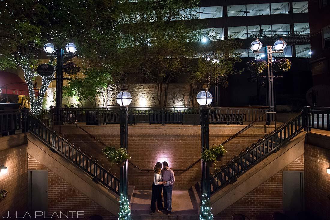 J. La Plante Photo | Denver Wedding Photographer | Larimer Square Engagement | Homage To Wes Anderson