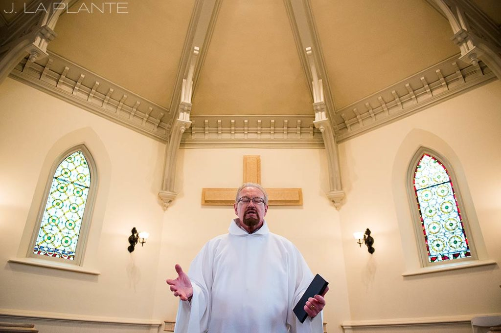 J. La Plante Photo | Denver Wedding Photographer | University of Denver Wedding | Evans Chapel Wedding | Wedding Officiant