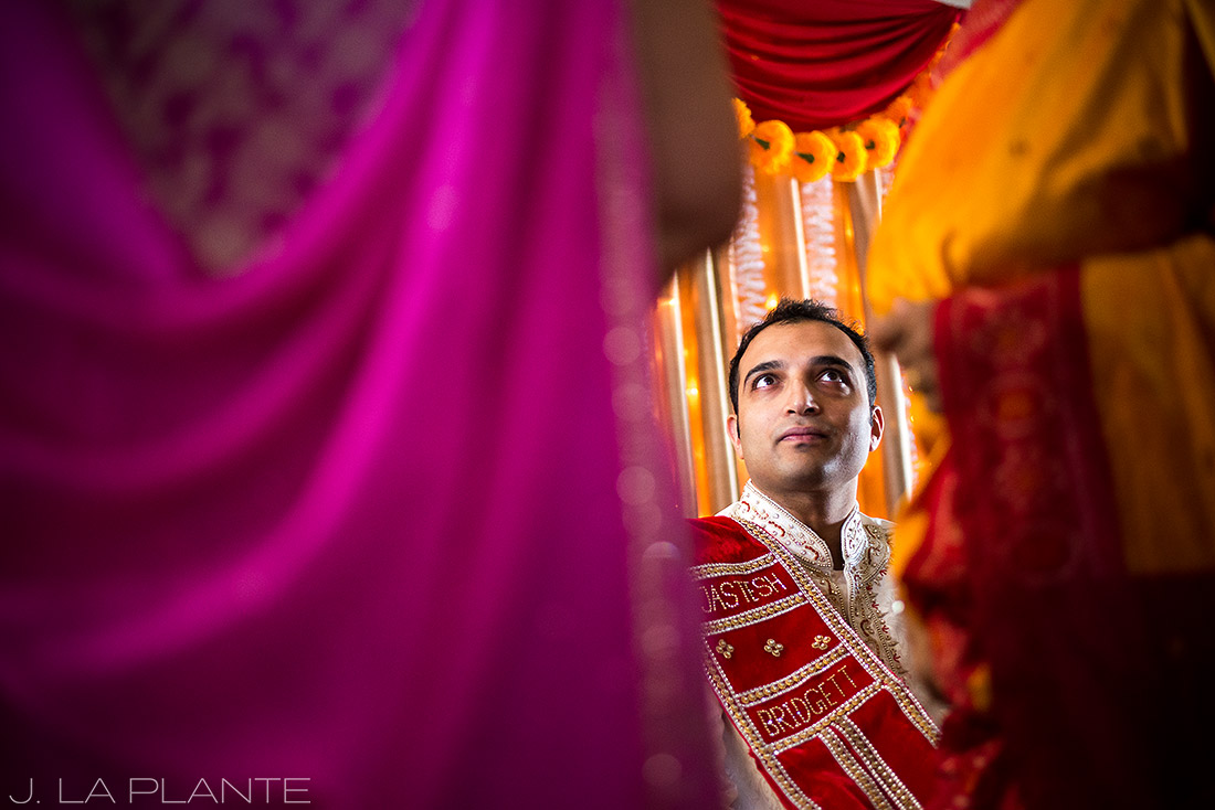 J. La Plante Photo | Pueblo Wedding Photographer | Hindu Wedding | Hindu Groom Getting Ready