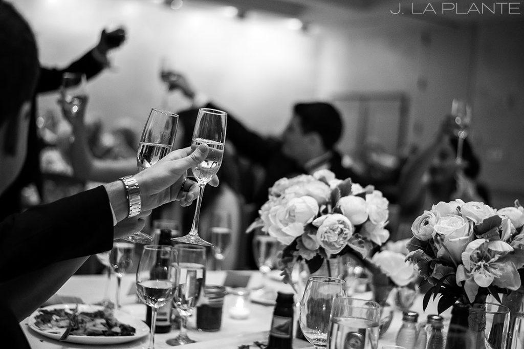 J. La Plante Photo | Denver Wedding Photographer | University of Denver Wedding | Fritz Knoebel Wedding | Wedding Toasts