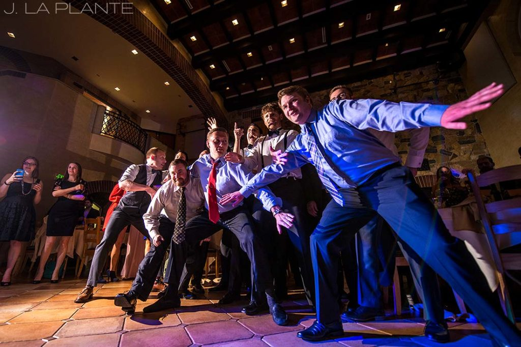 J. La Plante Photo | Denver Wedding Photographer | University of Denver Wedding | Fritz Knoebel Wedding | Garter Toss