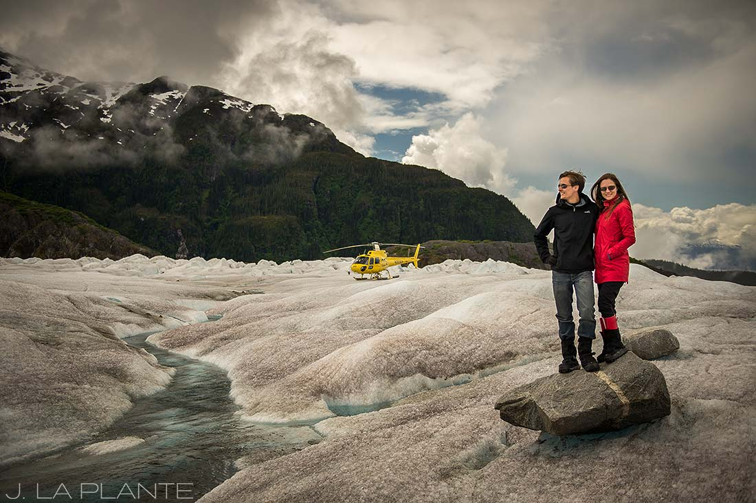 helicopter tour of the juneau ice field