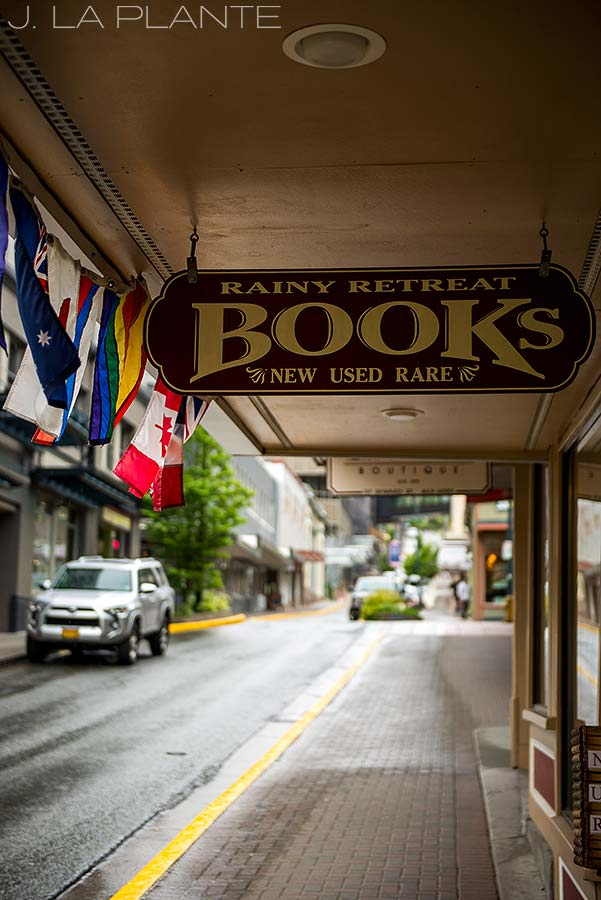 cool old book store in downtown juneau