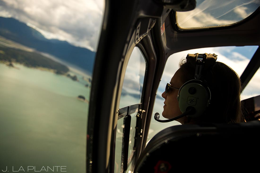 helicopter tour in juneau