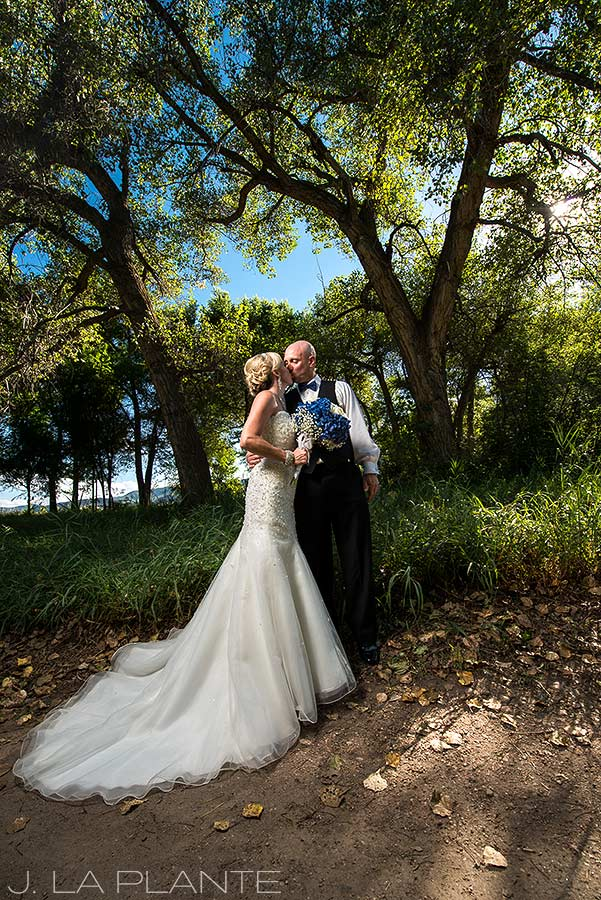 J. LaPlante Photo | Denver Wedding Photographer | Chatfield Botanic Gardens Wedding | Bride and Groom Portrait