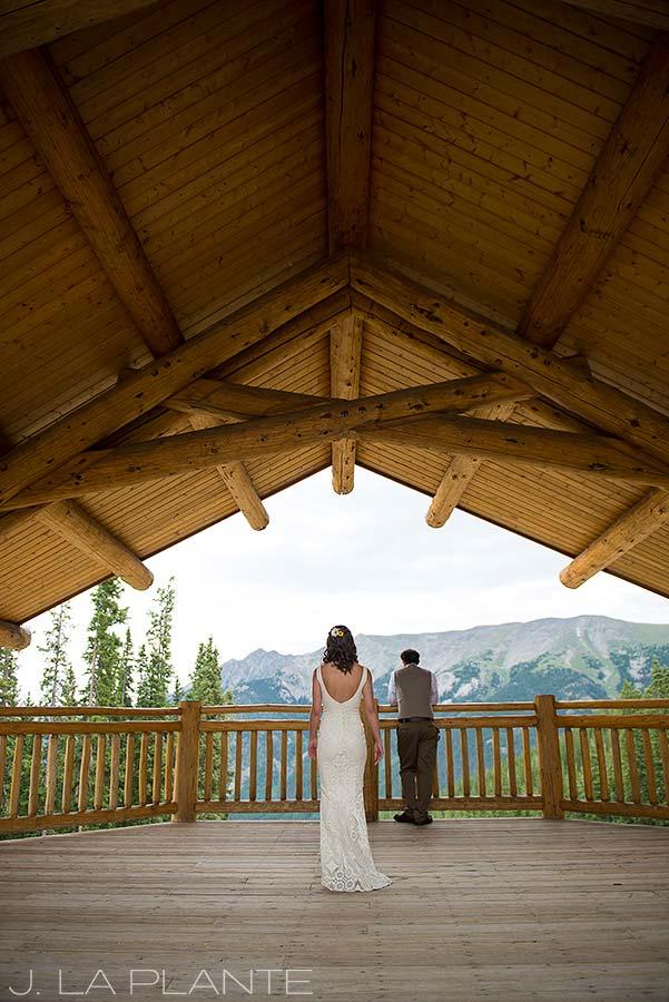 J. La Plante Photo | Colorado Destination Wedding Photographer | Copper Mountain Wedding | Bride and Groom First Look