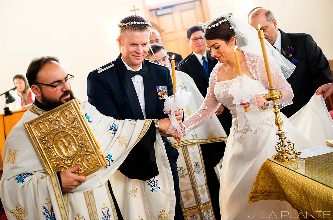 J. La Plante Photo | Boulder Wedding Photographer | Boulder Greek Orthodox Wedding | Greek Orthodox Wedding Ceremony