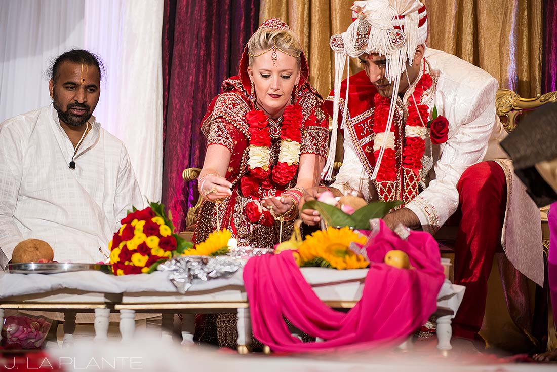 J. La Plante Photo | Colorado Wedding Photographer | Pueblo Convention Center Wedding | Hindu Wedding Ceremony