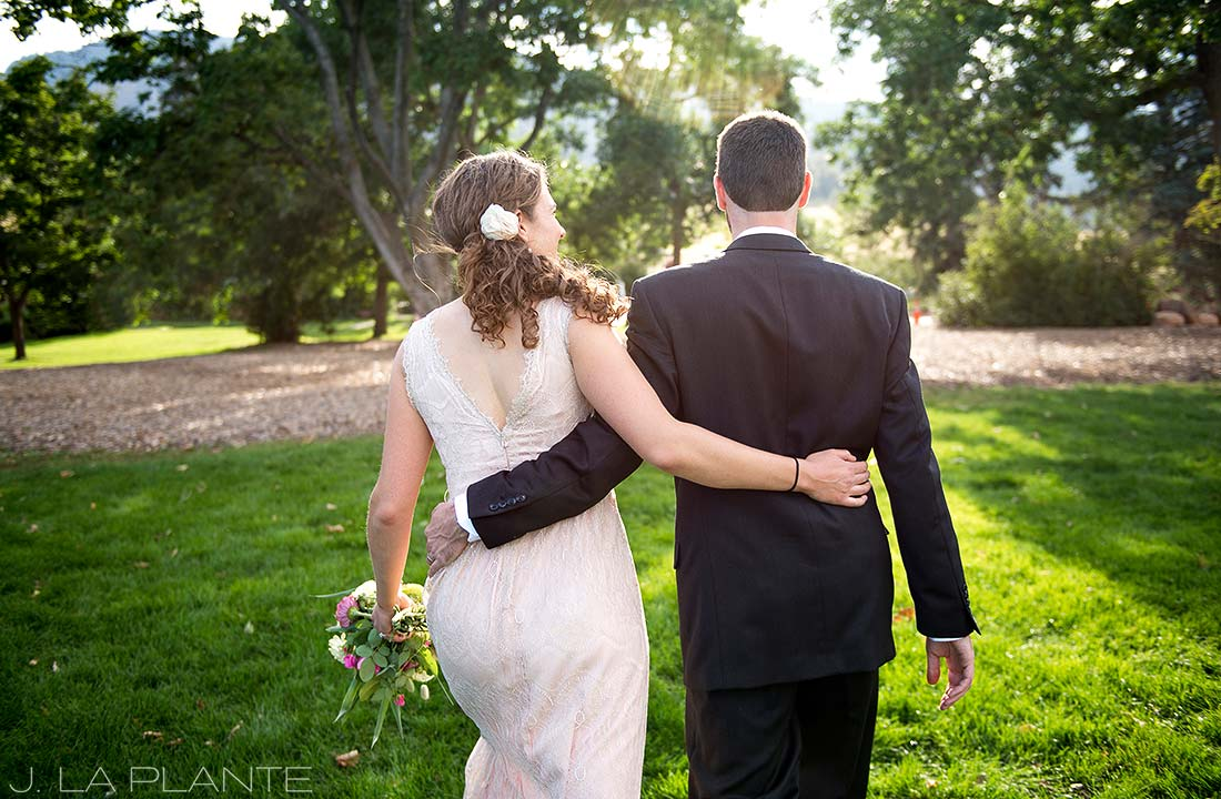 J. LaPlante Photo | Boulder Wedding Photographer | Chautauqua Park Wedding | Bride and Groom in Chautauqua Park