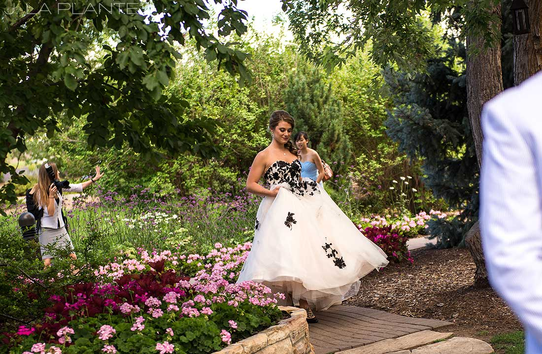 J. La Plante Photo | Denver Wedding Photographer | Hudson Gardens Wedding | Bride and Groom First Look