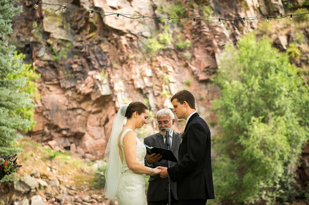 J. LaPlante Photo | Colorado Wedding Photographers | River Bend Wedding | Rustic Wedding Ceremony