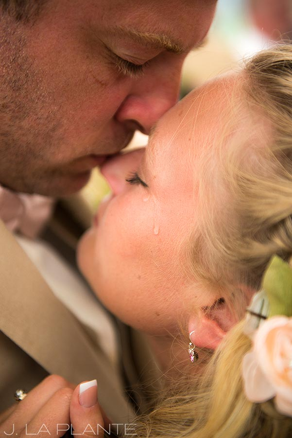 J. La Plante Photo | Ogunquit Wedding Photographer | River Lily Farm Wedding | Intimate Moment Between Bride and Groom