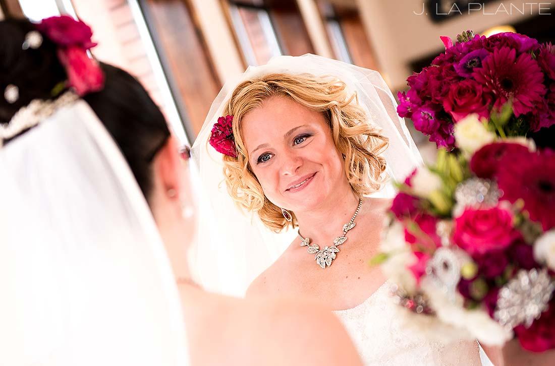 J. La Plante Photo | Boulder Wedding Photographer | Hotel Boulderado Wedding | Same Sex Wedding | Bride and Bride First Look