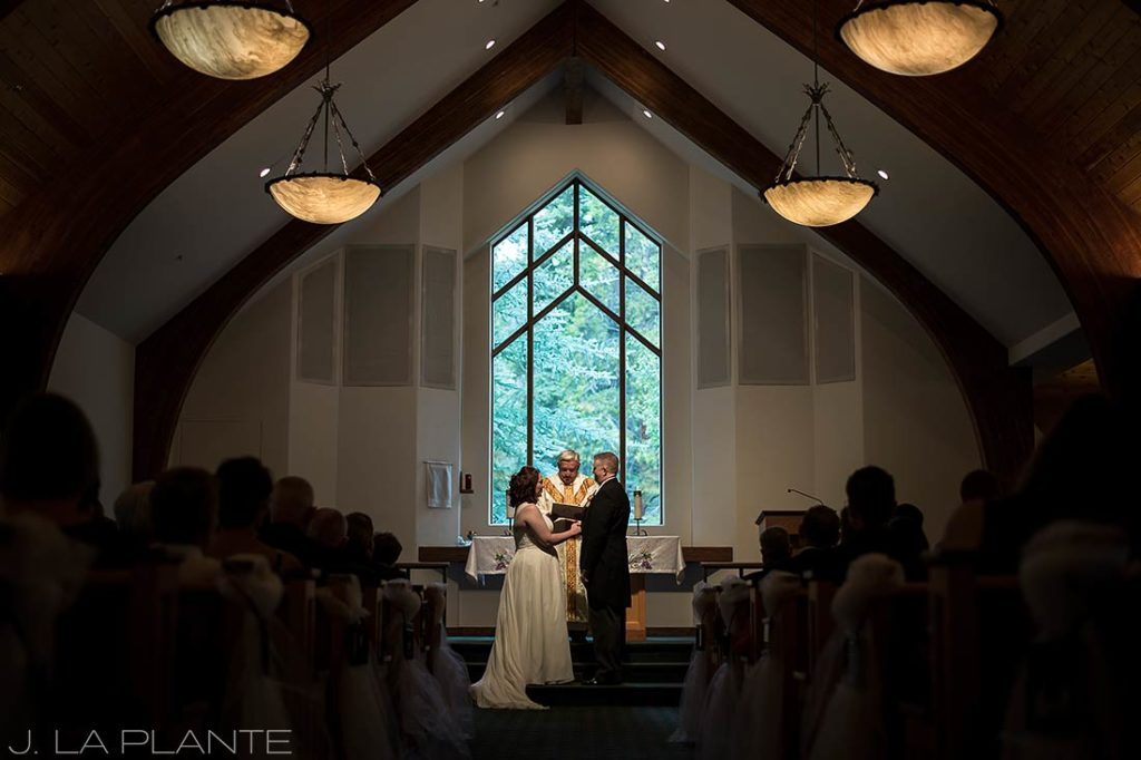 J. La Plante Photo   Vail Wedding Photographers   Vail Interfaith Chapel Wedding   Catholic Wedding Ceremony