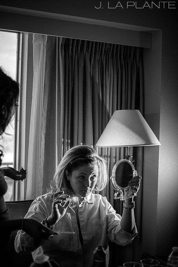 J. La Plante Photo | Boulder Wedding Photographers | Millennium Hotel Wedding | Bridesmaids Getting Ready