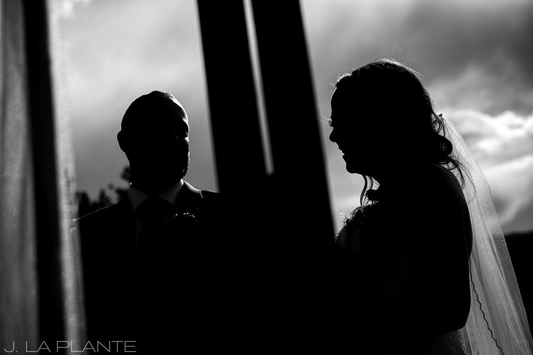 J. LaPlante Photo | Boulder Wedding Photographer | Mon Cheri Wedding | Bride and Groom at Ceremony
