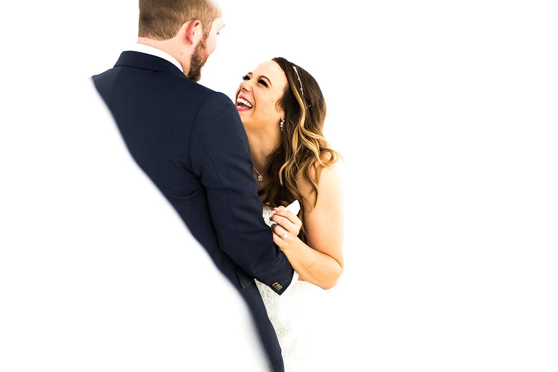 J. LaPlante Photo | Boulder Wedding Photographer | Mon Cheri Wedding | Bride and Groom After Ceremony