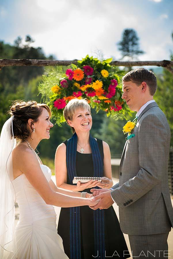 J. La Plante Photo   Beaver Creek Wedding Photographers   Beaver Creek Lodge Wedding   Outdoor Wedding Ceremony