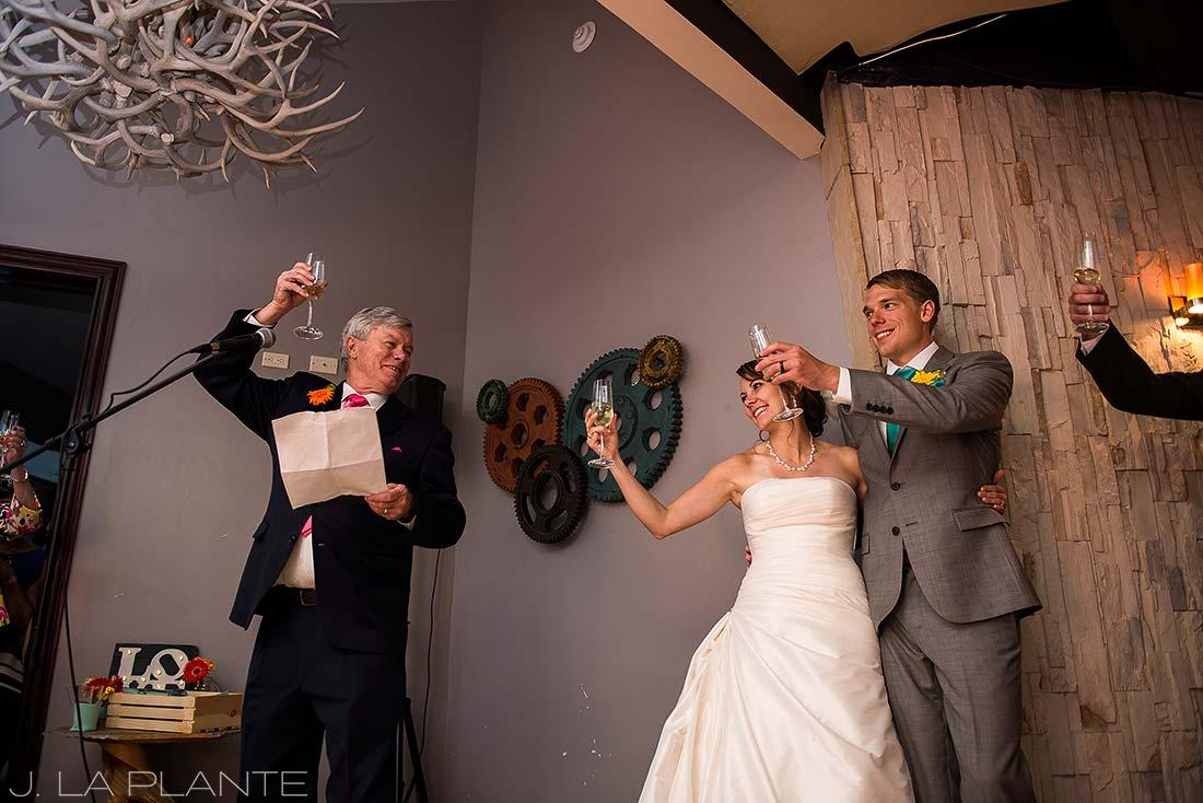 J. La Plante Photo   Beaver Creek Wedding Photographers   Beaver Creek Lodge Wedding   Father of the Bride Speech