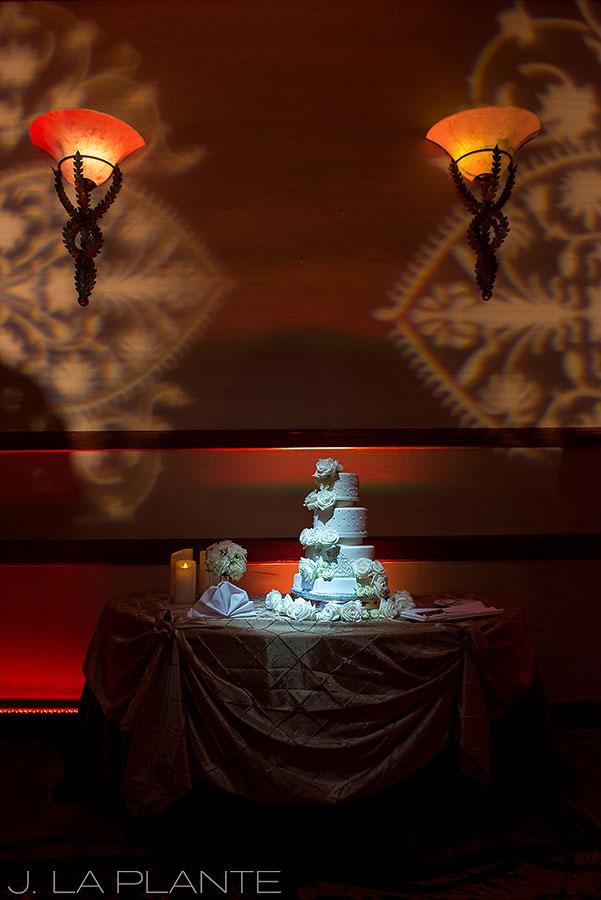 J. LaPlante Photo | Colorado Springs Wedding Photographers | Cheyenne Mountain Resort Wedding | Wedding Cake Photo