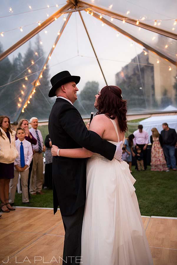 J. La Plante Photo | Vail Wedding Photographers | Lion Square Lodge Wedding | First Dance