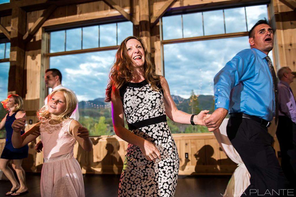 J. La Plante Photo | Winter Park Colorado Wedding Photographer | Devil's Thumb Ranch Wedding | Wedding Reception Dance Party