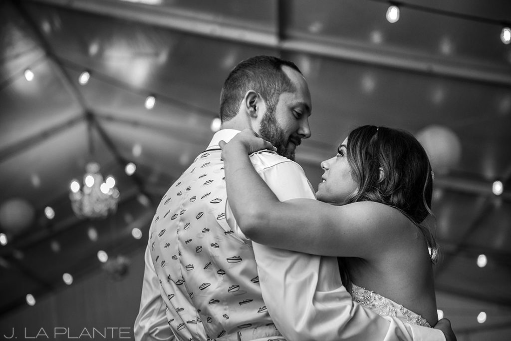 J. LaPlante Photo | Colorado Wedding Photographer | Mon Cheri Wedding | First Dance