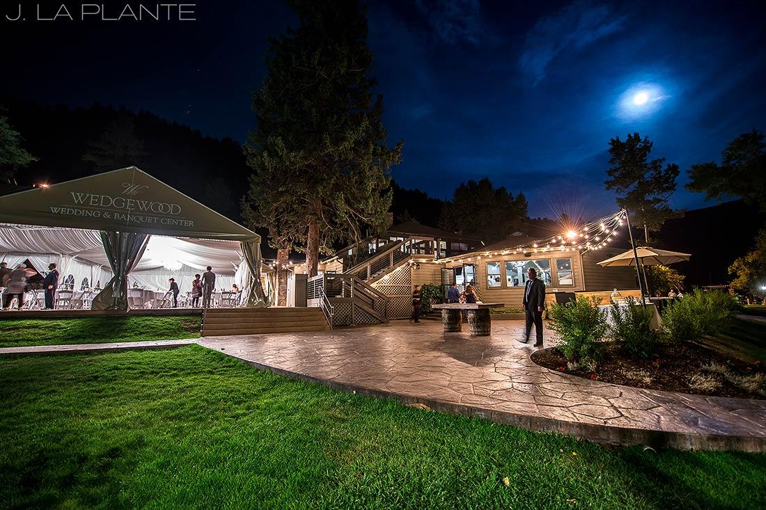 J. La Plante Photo | Boulder Wedding Photographers | Wedgewood on Boulder Creek Wedding | Night Photography