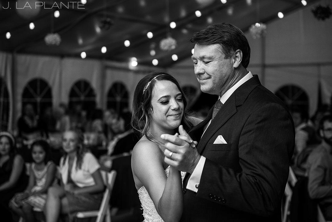 J. LaPlante Photo | Colorado Wedding Photographer | Mon Cheri Wedding | Father Daughter Dance