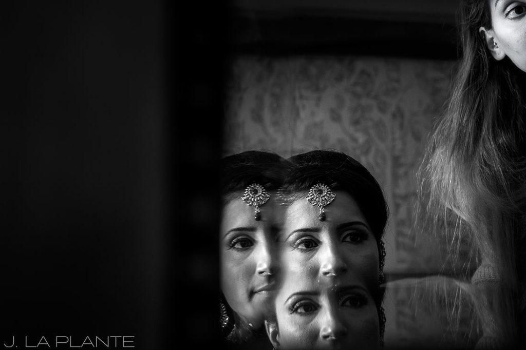 J. LaPlante Photo   Colorado Springs Wedding Photographer   Cheyenne Mountain Resort Wedding   Hindu Wedding Bride Getting Ready