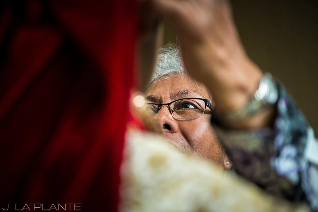 J. LaPlante Photo   Colorado Springs Wedding Photographer   Cheyenne Mountain Resort Wedding   Hindu Wedding Groom Getting Ready