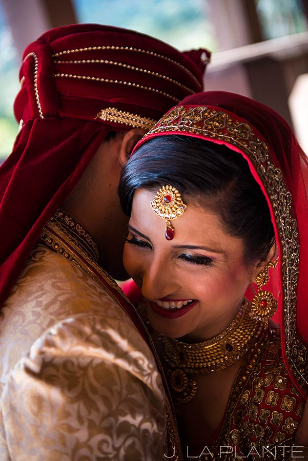J. LaPlante Photo | Colorado Springs Wedding Photographer | Cheyenne Mountain Resort Wedding | Hindu Wedding First Look