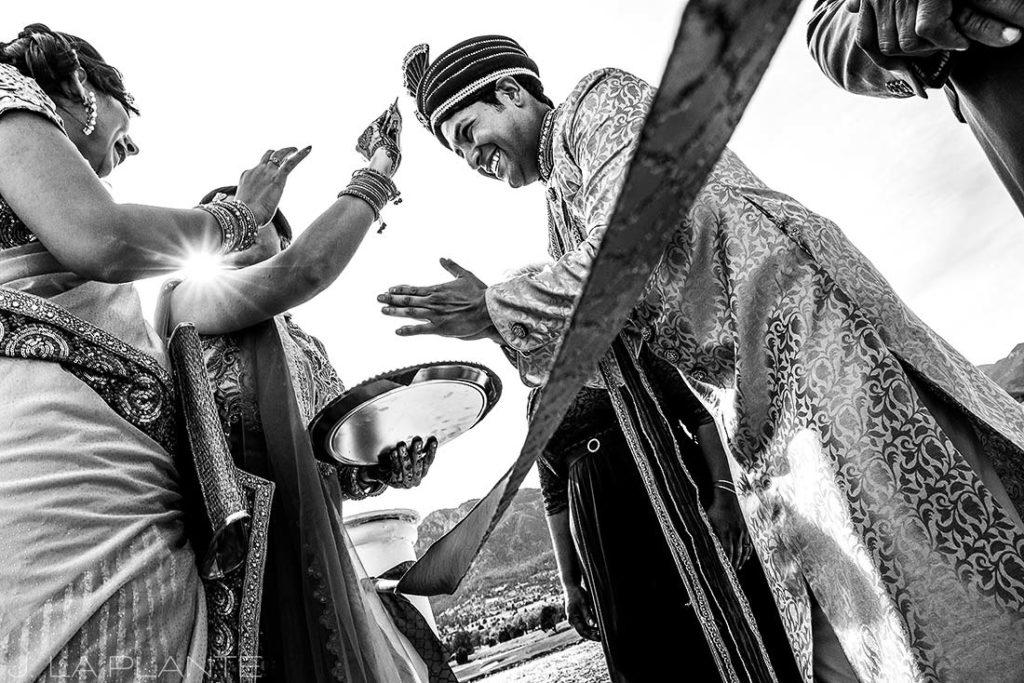 Hindu wedding ceremony   Hindu wedding in Colorado Springs   Cheyenne Mountain Resort wedding   J. La Plante Photo
