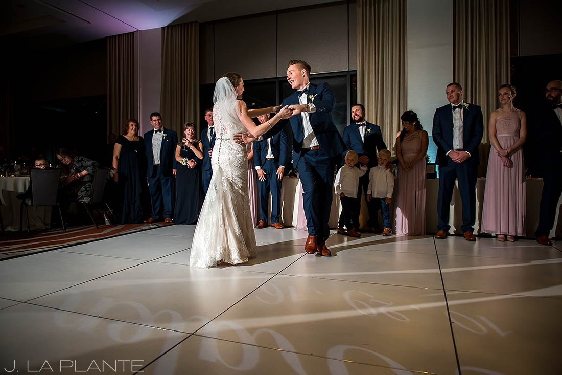 J. La Plante Photo | Denver Wedding Photographer | Grand Hyatt Wedding | First dance