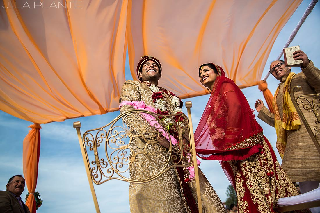 Hindu wedding ceremony | Hindu wedding in Colorado Springs | Cheyenne Mountain Resort wedding | J. La Plante Photo