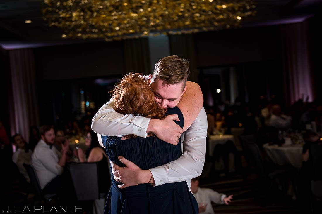 J. La Plante Photo | Denver Wedding Photographer | Grand Hyatt Wedding | Mother son dance