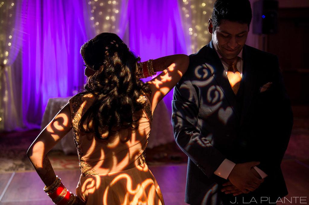 Choreographed first dance   Hindu wedding in Colorado Springs   Cheyenne Mountain Resort wedding   J. La Plante Photo