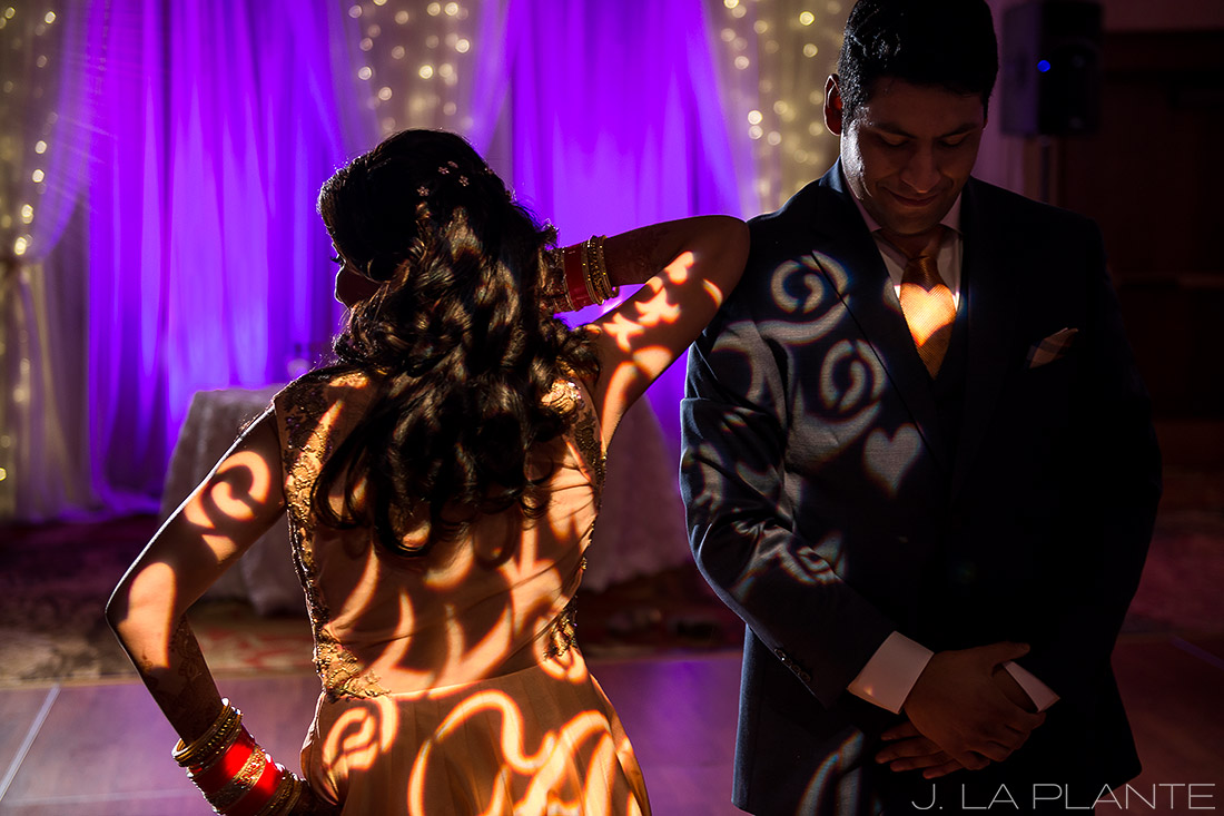 Choreographed first dance | Hindu wedding in Colorado Springs | Cheyenne Mountain Resort wedding | J. La Plante Photo