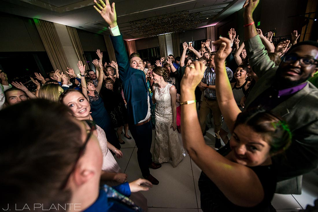 J. La Plante Photo | Denver Wedding Photographer | Grand Hyatt Wedding | Dance party